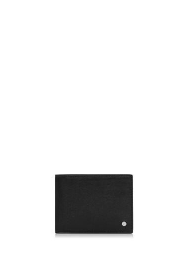 Cengiz Pakel Hakiki Deri Erkek Cüzdan 27508-Siyah Siyah